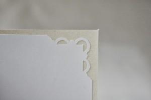 card corner detail