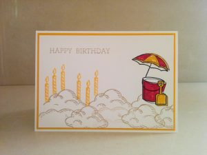 Pete goes card crafting masculine stampin' Up!