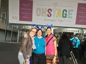 Stampin' Up! the meeting of the dream team at OnStage Amsterdam 2017